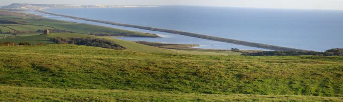 Chesil Beach Panorama