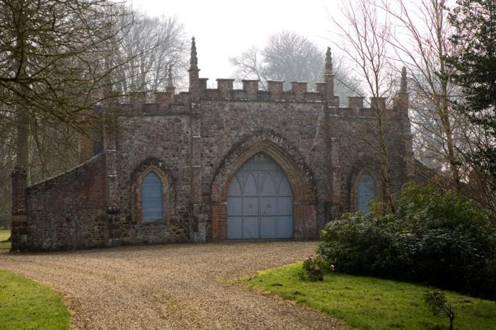 Bindon Abbey Gothick Gatehouse