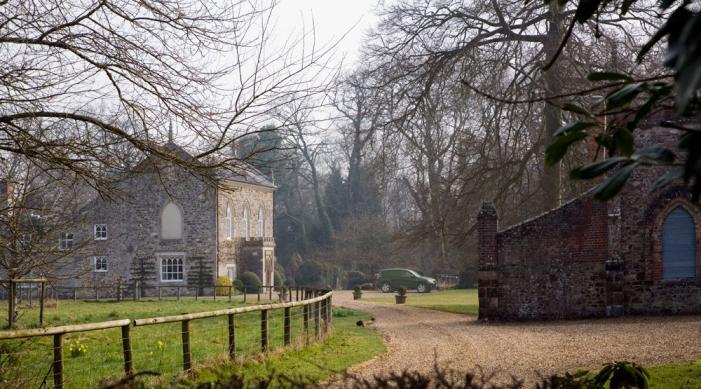 Bindon Abbey House