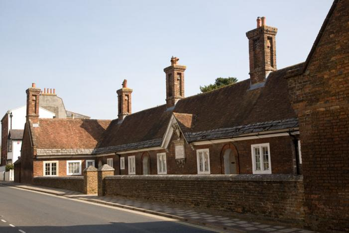 Almshouses in Blanford Forum