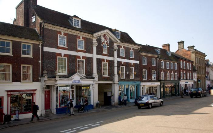Market Place - Blandford Forum