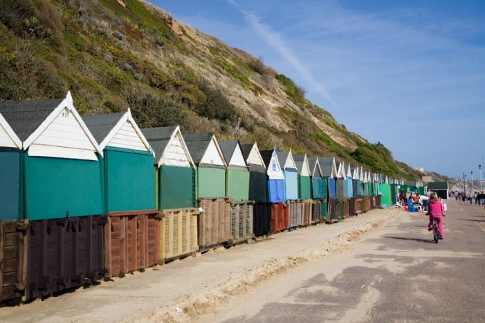 Beach Huts at Boscombe