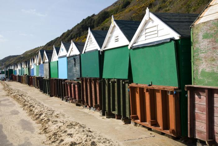Boscombe Beach Huts