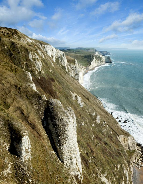 Purbeck Coast Cliffs