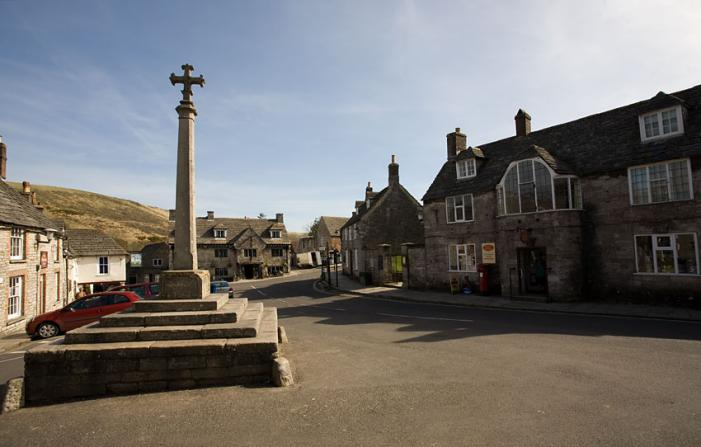 The Square - Corfe Castle