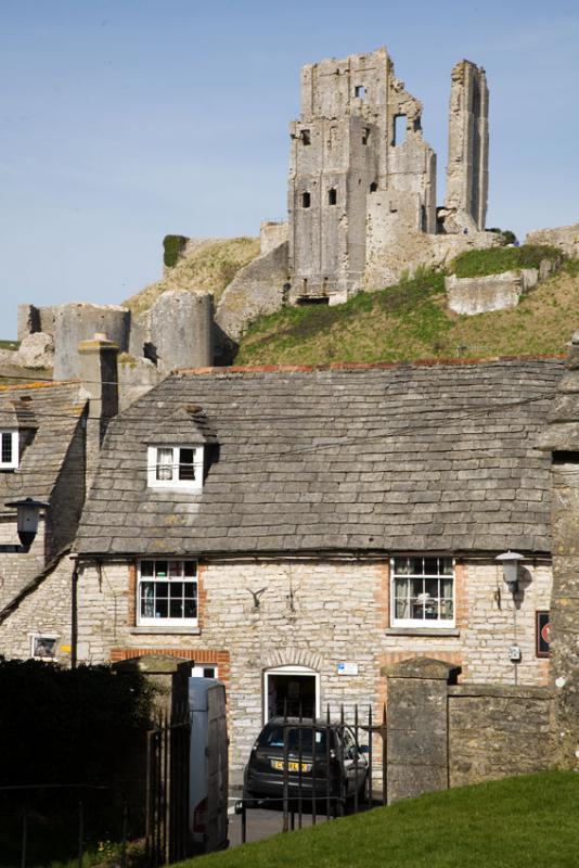Corfe Castle and Cottage
