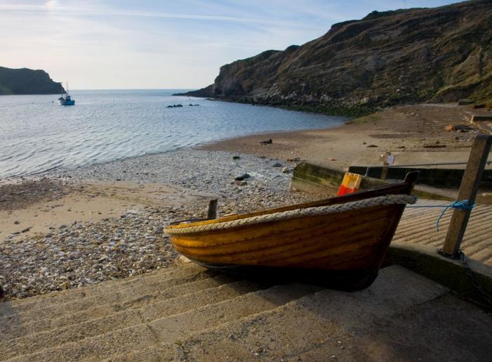 Lulworth Cove Boat