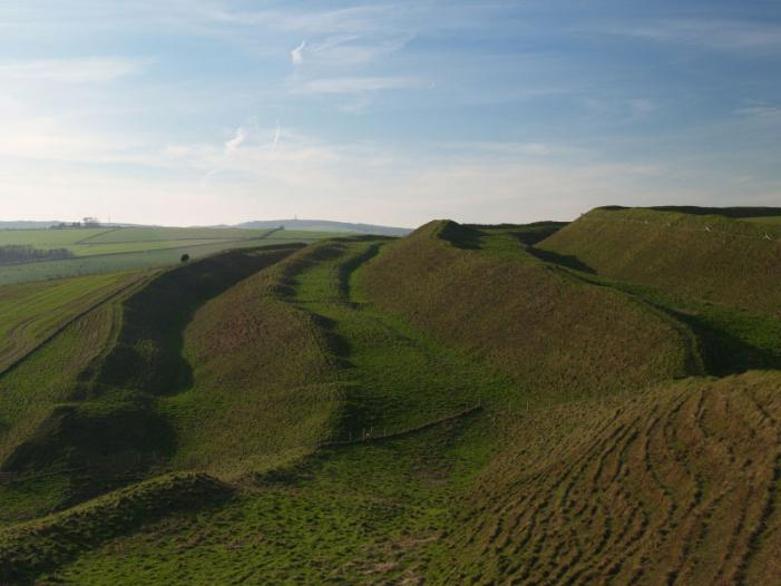 Maiden Castle nr Dorchester