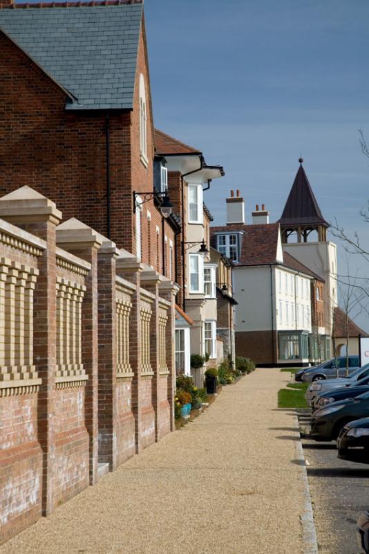 Poundbury - Peverell Avenue