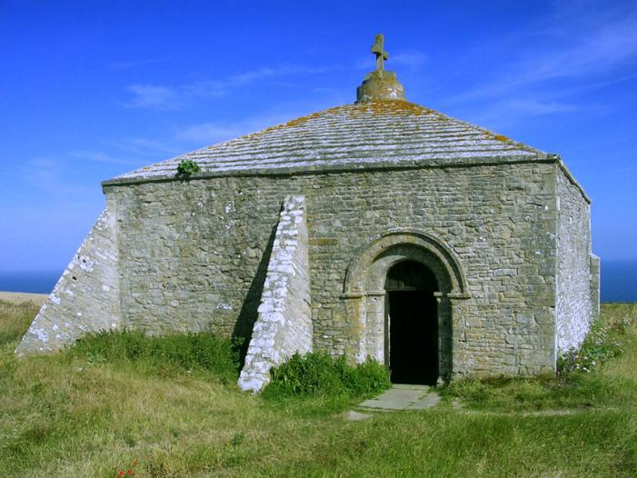 St Aldhelm's Head Chapel