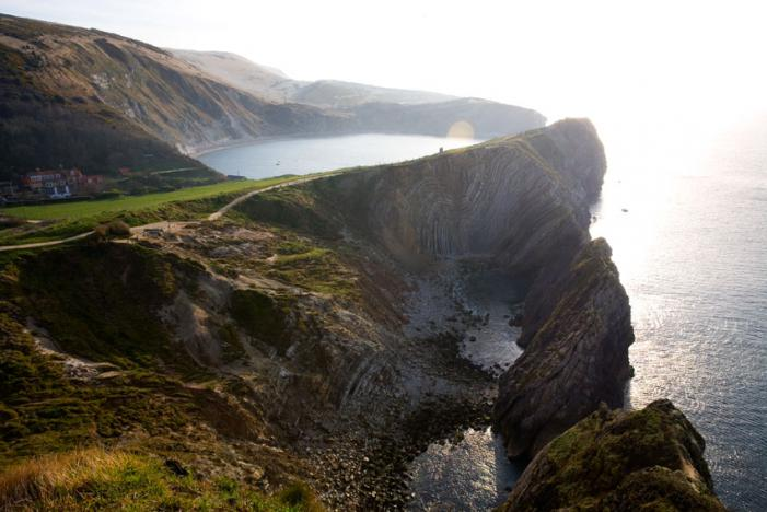 Stair Hole and Lulworth Cove