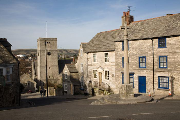 Swanage - Church Hill from High Street