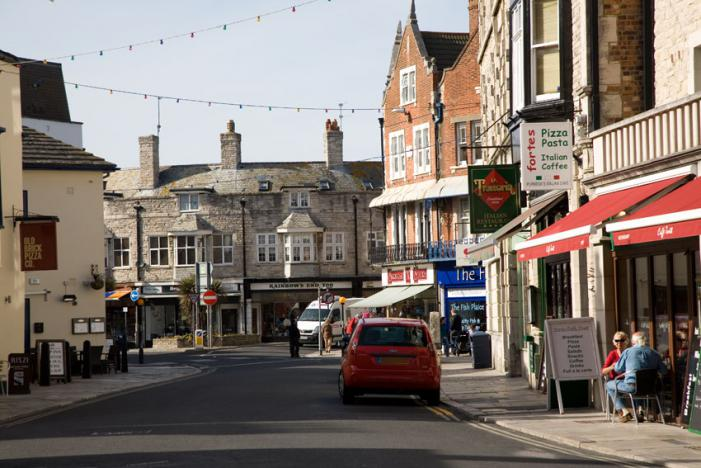 Swanage Town Centre