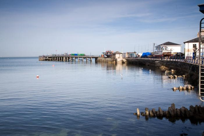 Swanage Pier View
