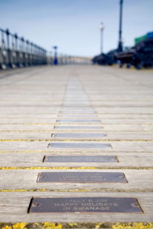 Swanage Pier Plaques