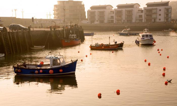 Evening Sun - West Bay harbour