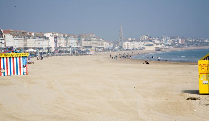 Weymouth Beach and Esplanade